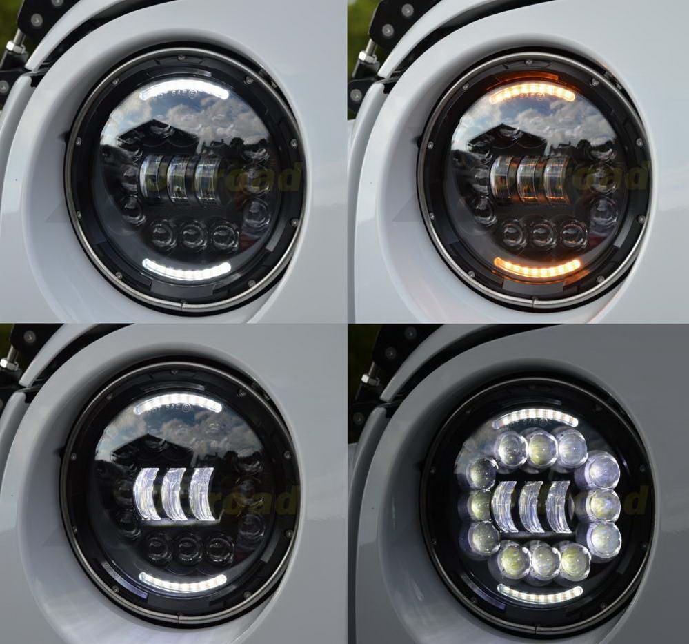 Új X LED fényszórók