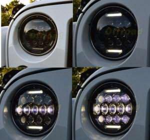 X LED 6000 fényszóró (2)