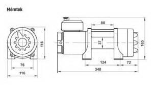 HORN Gamma 3.5s ATV - 24V